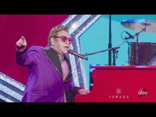 Elton John - '(I'm Gonna) Love Me Again' (Live at Oscars 2020)