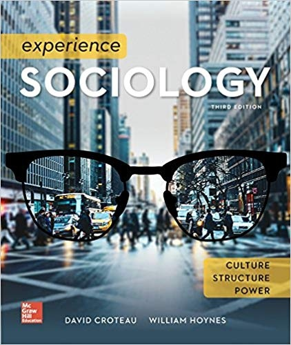Experience Sociology 3rd Edition