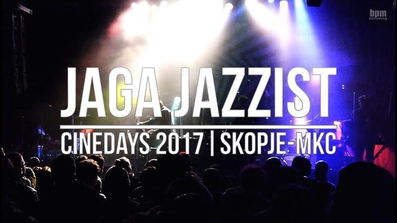 Jaga Jazzist Live @ Cinedays 23 11 2017 Skopje Macedonia MKC