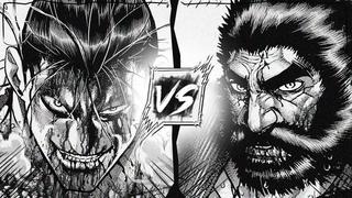 Kanoh Agito The Fang of Metsudo VS Kuroki Gensai The Devil Lance [FULL FIGHT] - Kengan Ashura