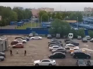 Перестрелка на юге Москвы