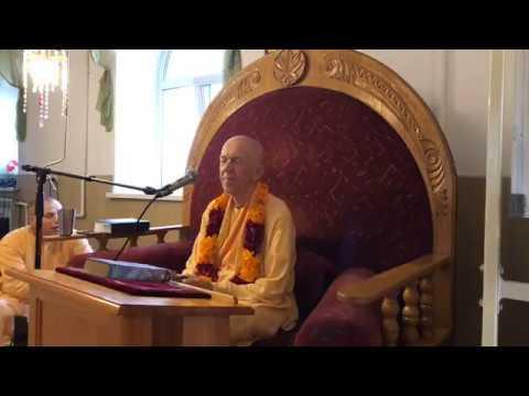 BVV Narasimha Swami, BG 9.28, Khabarovsk, 7.8.2019 (Eng Rus)