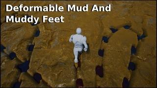 Deformable Mud and Muddy Feet - UE4 Material Tutorial