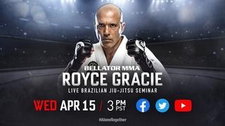 Royce Gracie Seminar! #AloneTogether