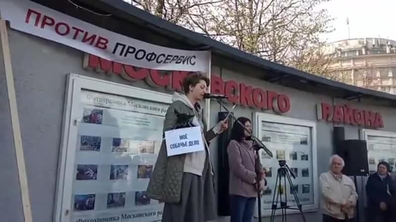 Митинг 08 05 19 ул Костюшко 15 Дарья Ярцева