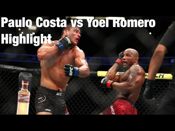 Yoel Romero vs Paulo Costa Full fight Highlights (Clash of the Titans)