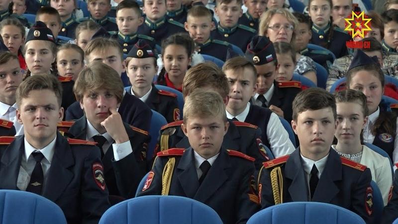 Пилотажная группа «Стрижи» посетила Кадетский корпус