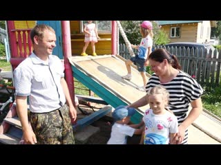 Многодетная семья из Сокольского района получила финансовую помощь для развития своего хозяйства