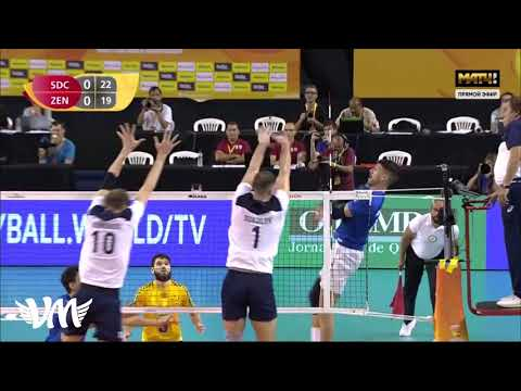 Highlights Sada Cruzeiro Volei vs Zenit Kazan Men's Volleyball Club World Champs 2019