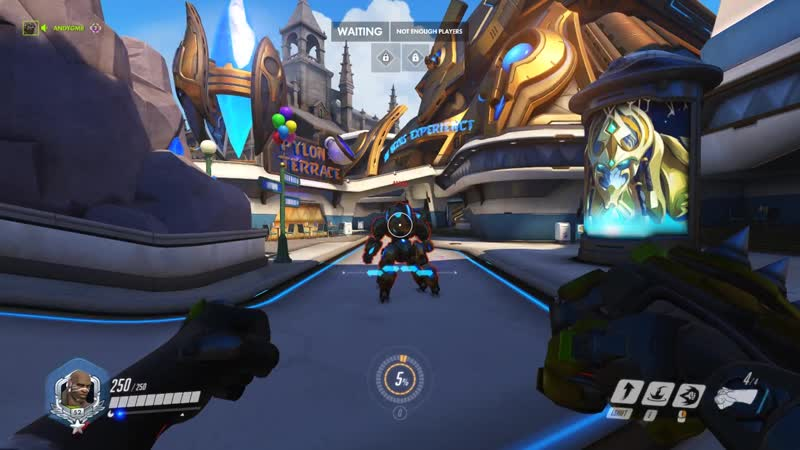 Doomfist can still stun Orisa's movement when she is fortified with rocket punch
