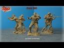 Cолдатики Plastic Platoon Британские защитники острова Крит 1941 год
