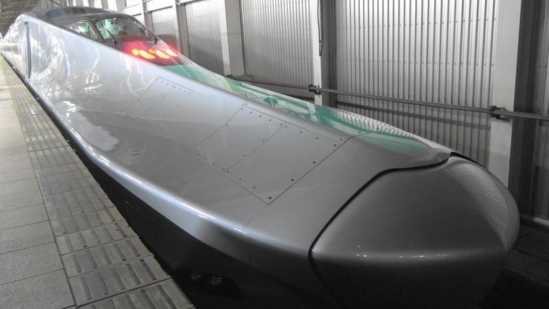 ALFA-X E956形 試運転開始!(東北新幹線仙台~新青森間) ALFA-X shinkansen has started test runs