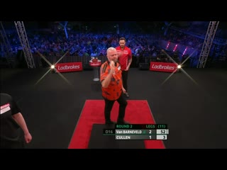 Raymond van Barneveld vs Joe Cullen (PDC Players Championship Finals 2019/ Round 2)