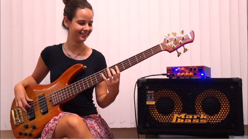Sir Duke Stevie Wonder Bass Guitar Cover by Alana Alberg