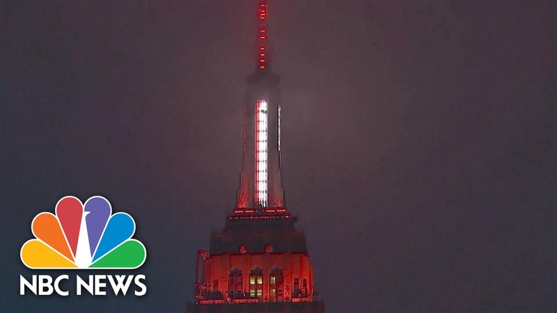 Empire State Building Honors Medics NBC