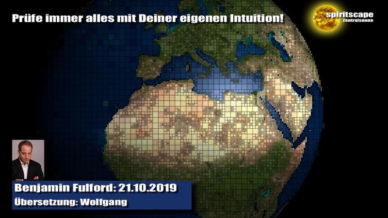 Benjamin Fulford 21.10.2019 (Deutsche Fassung / Echte Lesung)