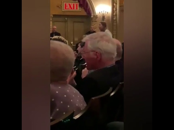 VIDEO: Audience Member Disrupts Talkback at SLAVE PLAY, Calling it 'Racist Against White People'
