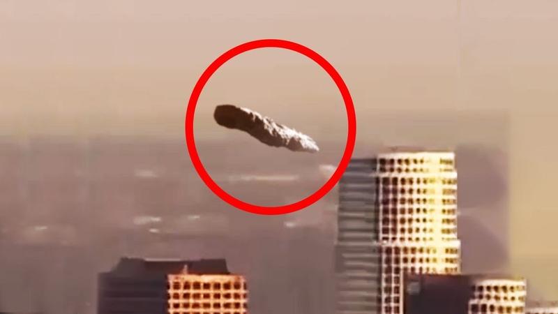 Asteroid UFO Caught On Camera Over Los Angeles | UFO Sightings 2019
