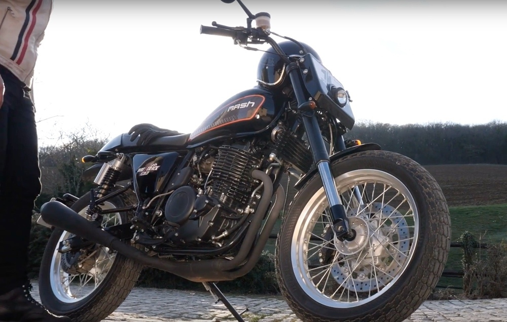 Компания Mash анонсировала первый 650-кубовый мотоцикл