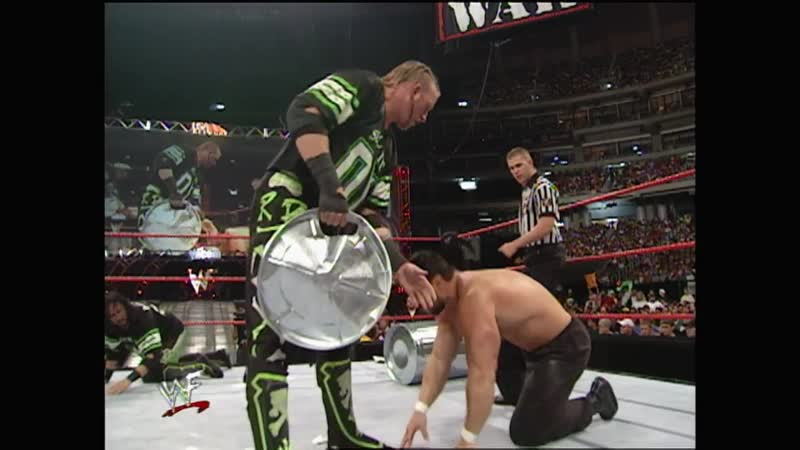 WWF Raw Is War 31.07.2000 - X-Pac Road Dogg vs Al Snow Steve Blackman