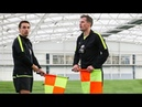 Gary Neville Jamie Carragher Train to be Linesmen! | The Referees Part 2