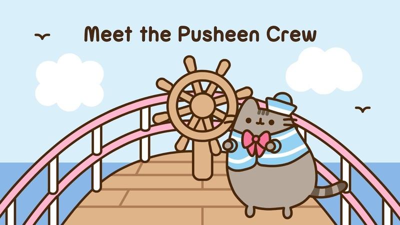 Pusheen: Meet the Crew