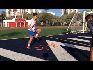 Tower drill _ grande 1on1 soccer training