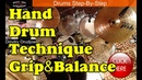 How To Hold Your Drumsticks Hand Technique Matched Traditional Grip Drum Lesson