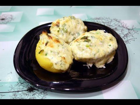Затрат на 10 рублей, а вкус запеченного картофеля с зеленью и сыром на вес золота