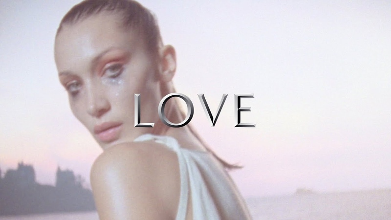 Supermodel Bella Hadid plays the gothic bride captured by Harley Weir and Katie Grand for LOVE23