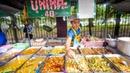 $1 29 Buffet ALL YOU CAN EAT Thai Street Food in Bangkok Thailand