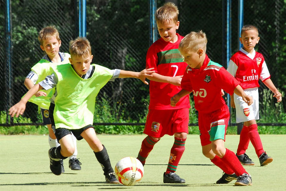 футбольная школа локомотив