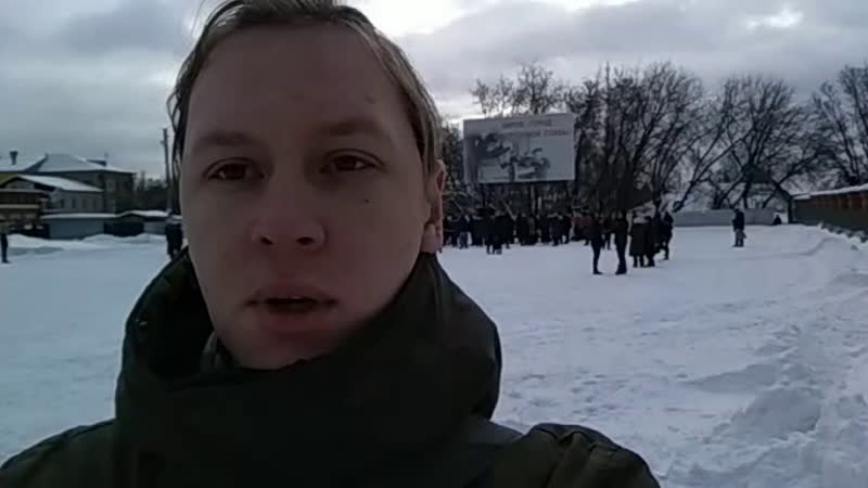 Митинг противников строительства Марадыковского