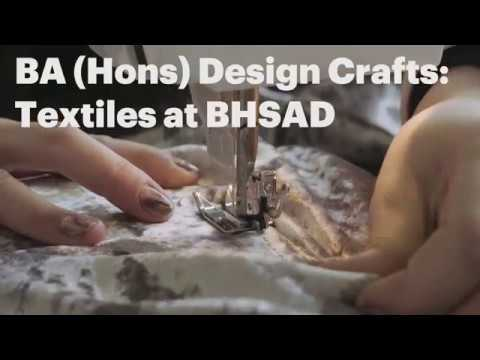 Angus Colvin about BA (Hons) Design Crafts Textiles