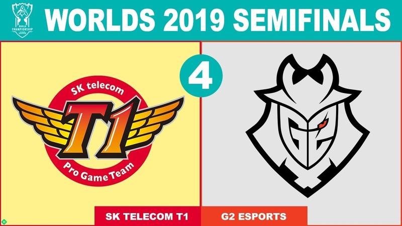 SKT vs G2 Game 4 - Worlds 2019 Semifinals - SK Telecom T1 vs G2 Esports G4