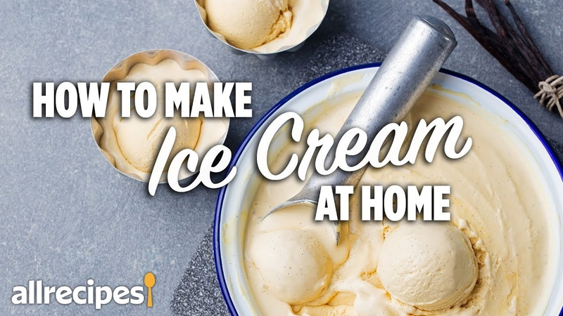 How to Make Homemade Ice Cream WithMe At Home Recipes