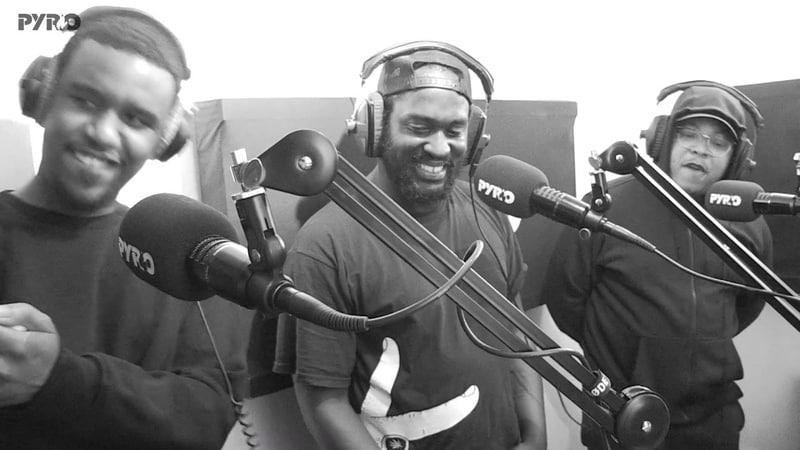 Blacks Novelist Manga Saint Hilare Slickman Party DJ Intense J Oh Zee PyroRadio