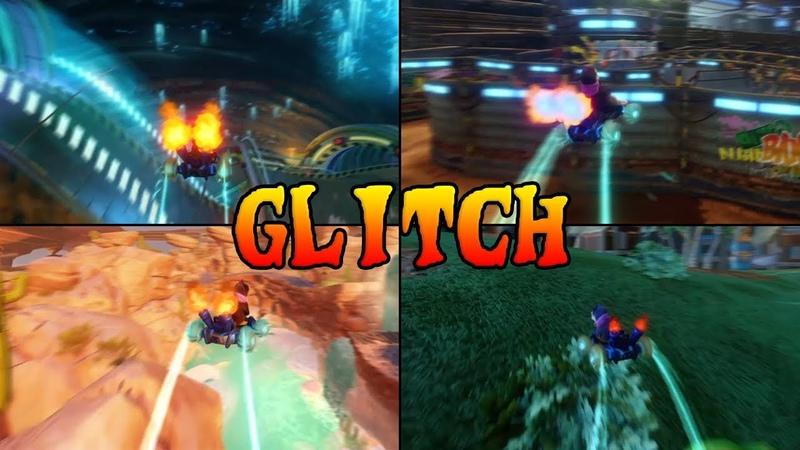 Atajos No Intencionados Crash Team Racing Nitro Fueled Glitch Cheat