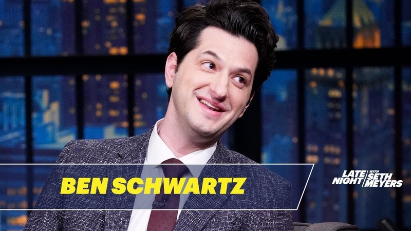 Ben Schwartz and Adam Pally Taped a Train Wreck Episode of CBS's The Late Late Show