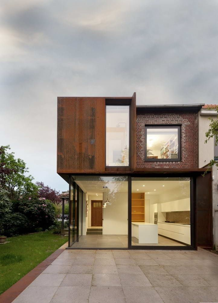 Расширение дома в Бельгии