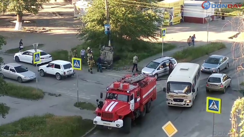 Donday В Новочеркасске в ДТП в микрорайоне Молодежном пострадали два человека