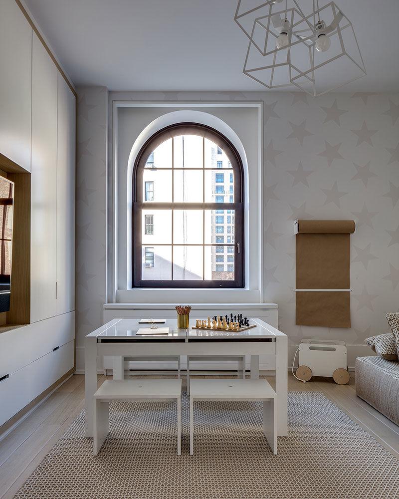 Как оформляют детские комнаты в современных квартирах Нью-Йорка || 03