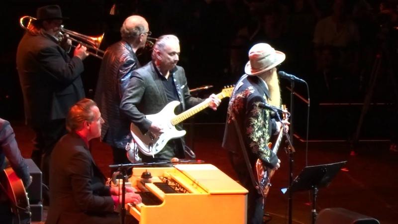 Jimmie Vaughan Billy Gibbons - Sharp Dressed Man La Grange LIVE 2019