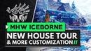 Monster Hunter World Iceborne New House Tour Improved Customization