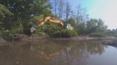 Destroying A Beaver Dam