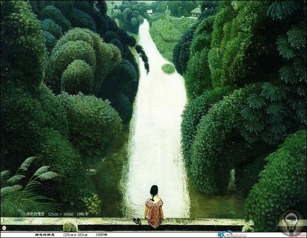 Медитация и созерцание в картинах Jian Chong Min часть 1Жизнь - это то, что мы думаем о ней. Это выражение как нельзя лучше подходит к творчеству китайского художника Jian Chong Min. Жиан Чонг