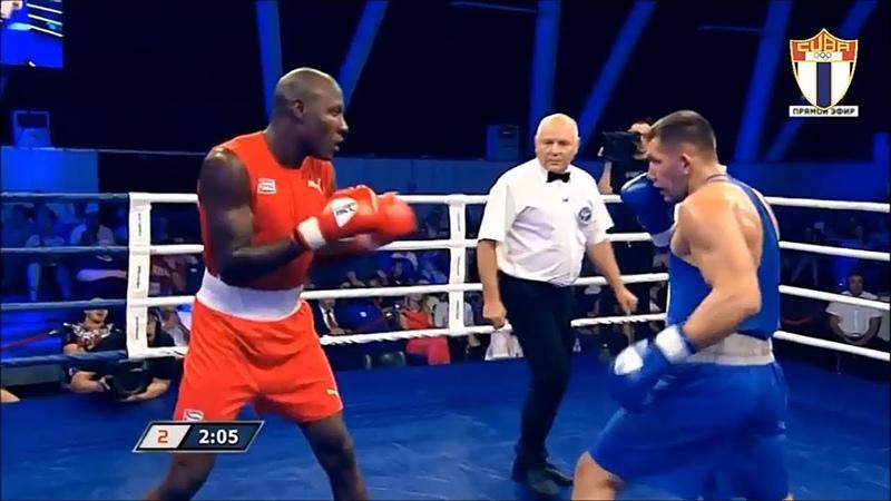 91kg Ivan SAGAIDAK RUS vs Erislandy SAVON COTILLA CUB 13 de Septiembre 2018