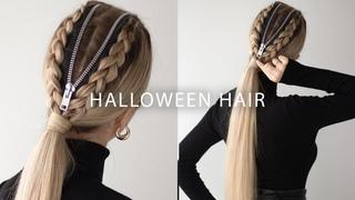 EASY Halloween Hairstyle  DIY Halloween costume 2019