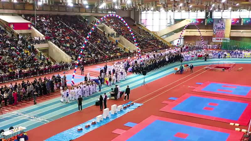Moscow challenge the biggest Taekwon-Do competition in Russia..mp4
