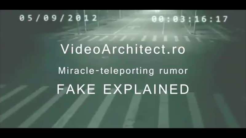 AMAZING Fake Teleportation in China